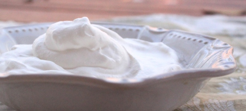 Whipping Cream by The Stocked Pantry